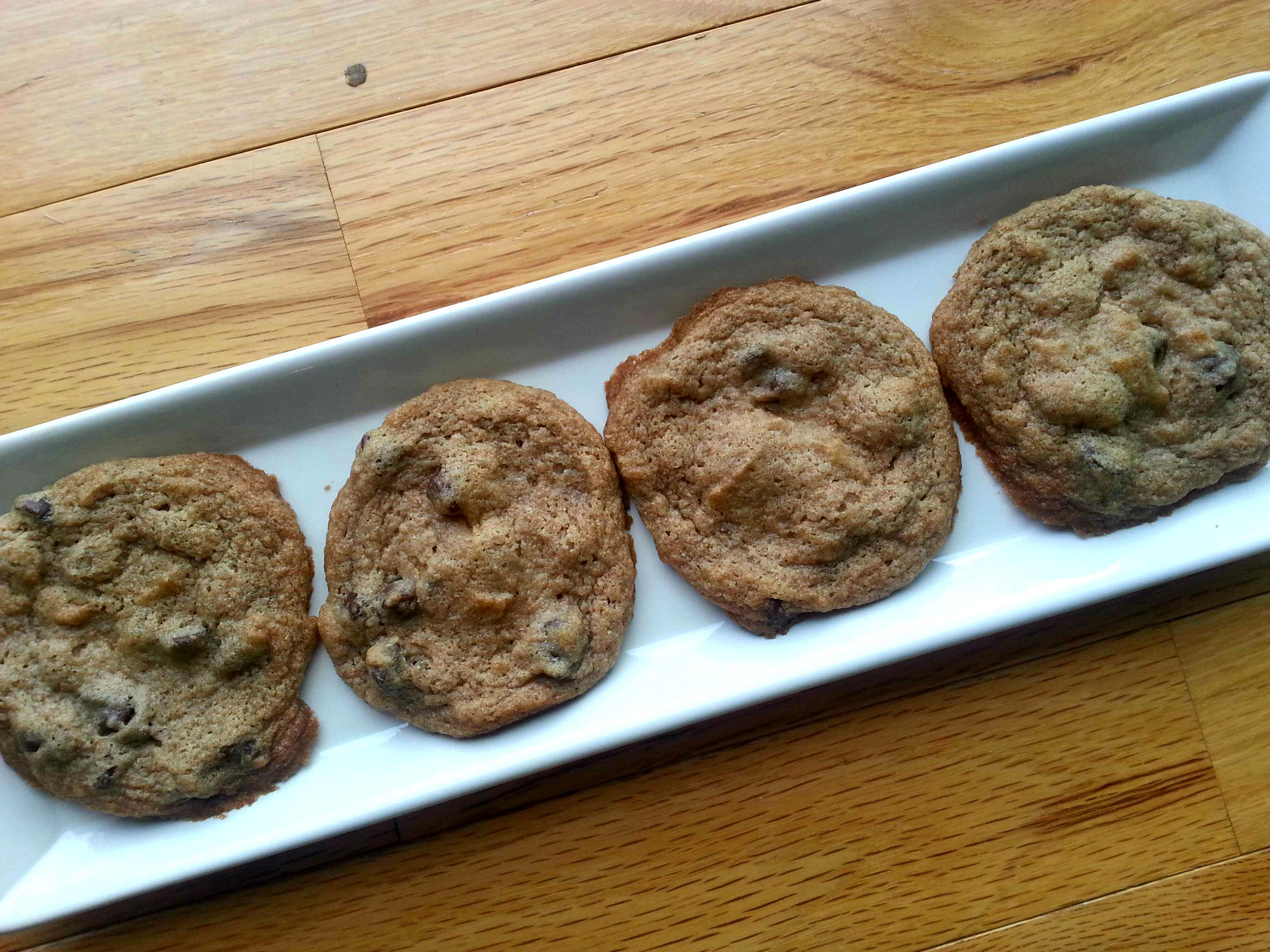 Vegan Chocolate Chip Cookies - Nutrition Thyme RD