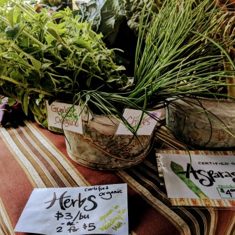Queen Anne Farmer's Market - Nutrition Thyme RD